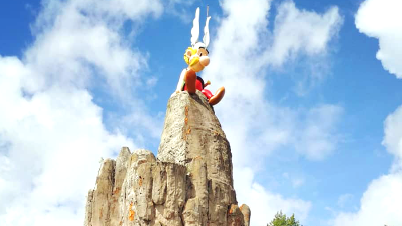 Un weekend au parc Astérix
